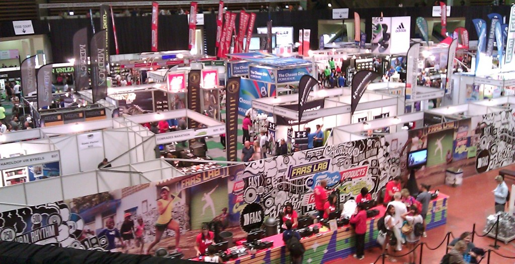two oceans marathon expo hall